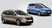 Dacia Lodgy contre Renault Scénic : lutte fratricide