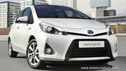 Toyota yaris hybride : celle pour les européens
