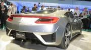 Acura – Honda NSX : un concept hybride séduisant