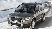 Skoda Yeti Green tec, exercice marketing