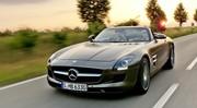 Essai Mercedes SLS Roadster : Haussement de son