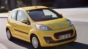 Prix Peugeot 107 et Citroën C1 2012 : Continuité contrastée