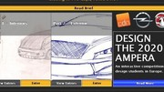 Concours : dessinez l'Opel Ampera 2020 en utilisant les médias sociaux