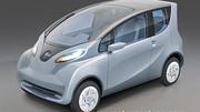 Un prototype de voiture électrique à bas coût, la Tata eMO