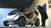 Hiriko : la petite électrique espagnole qui se compacte pour se garer