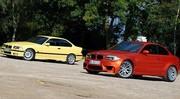 Essai BMW M3 (1992) vs BMW Série 1 M (2011) : L'instant M