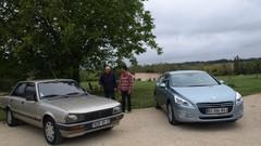 Essai Peugeot 505 GTD (1986) VS Peugeot 508 HDi (2011) : La grand-mère en a encore sous le capot
