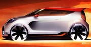 Un concept Kia Track'ster au Salon de Chicago