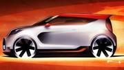 Premier teaser pour le Kia Track'ster Concept