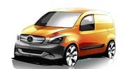 La fourgonnette Mercedes s'appellera Citan