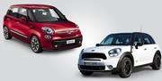 Fiat 500 L contre Mini Countryman : king size pour les mini rétros