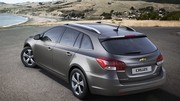 Chevrolet Cruze Station Wagon : Coffre en plus