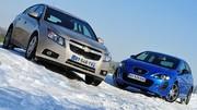 Essai Chevrolet Cruze 5 portes 2.0 VCDi 163 ch vs Seat Leon 2.0 TDI 170 ch : De la vigueur pour les familles