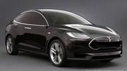 La Tesla modèle X, la plus grosse de toutes les électriques