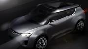 Concept Ssangyong XIV-2, un XIV-1 cabriolet
