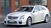 Essai Cadillac CTS-V Sport Wagon : Sainte-nitouche