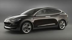 Tesla Model X : futur crossover électrique à portes papillon