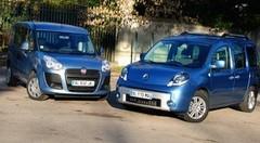Essai Fiat Doblo 1.6 MJT 105 ch vs Renault Kangoo 1.5 dCi 110 ch : Les ludospaces de la maturité ?