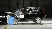 Crash-test Jeep Compass et Honda Civic : Le meilleur et le pire