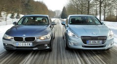 Essai : La nouvelle BMW Série 3 affronte la Peugeot 508