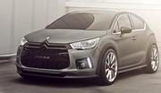 Citroën DS4 Racing Concept : Chevrons de feu !