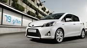 La Toyota Yaris Hybride à 79 g de CO2/km