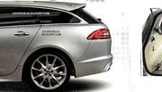 La Jaguar XF Sportbrake en fuite