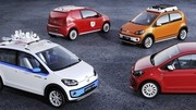 Volkswagen Swiss Up!, Winter Up!, X Up! et Cargo Up!