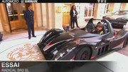 Emission Automoto : Essai  Radical SR3 SL; F1 : Jean-Eric Vergne; préparation de Genève