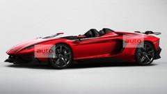 Un concept-car Lamborghini Aventador J Speedster à Genève ?