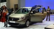 Dacia Lodgy : 4,50 m, 7 places, 9 990 euros