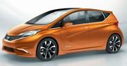 Concept-car Invitation, le futur Nissan Note s'invite à Genève