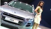 Les hôtesses Peugeot, Citroën, BMW et Ford