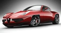 Concept Touring Superleggera Disco Volante : l'Alfa Roméo néo rétro
