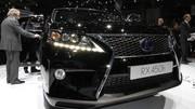 RX450h restylé, Lexus et bouche cousue