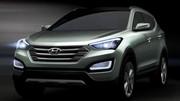 Le Hyundai Sante Fe en teasing