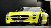 Mercedes livre quelques détails sur la SLS AMG E-Cell