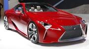 Lexus LF-LC : un peu de joie dans la grisaille