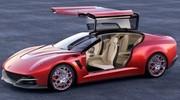 Giugiaro Brivido : nouvelle interprétation du coupé hybride chez Italdesign