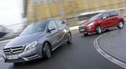 Essai Mercedes B 200 CDI vs Peugeot 3008 2.0 HDi 150 : Cossues et généreuses