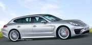 Porsche Panamera PHB : Double innovation