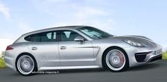 Porsche Panamera PHB : Double innovation
