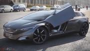 A bord du concept Peugeot HX1