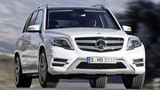 La Mercedes GLK actualisée devient plus propre