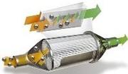 Un filtre à particules pour moteur essence à l'étude