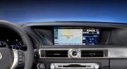 Lexus GS 450 h: un écran de XXL sur le tableau de bord