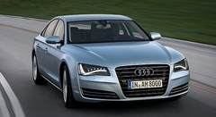 Audi A8 Hybrid 2.0 TFSI : vitrine accessible