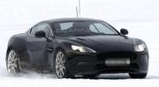 La future Aston Martin DB9 à la neige