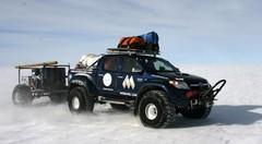 Des Toyota Hilux résistent à l'Antarctique