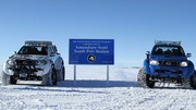 Toyota Hilux : expédition record dans l'Antarctique